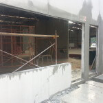 Cutting door and windows into 150mm thick