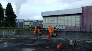 Six Technicians - One Job