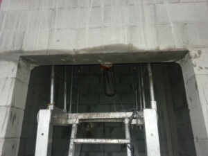 Lift Shaft - Ring Saw
